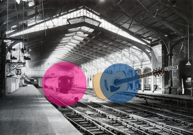 Di Bawah Peron Stasiun (Karya Bima Satria Putra)